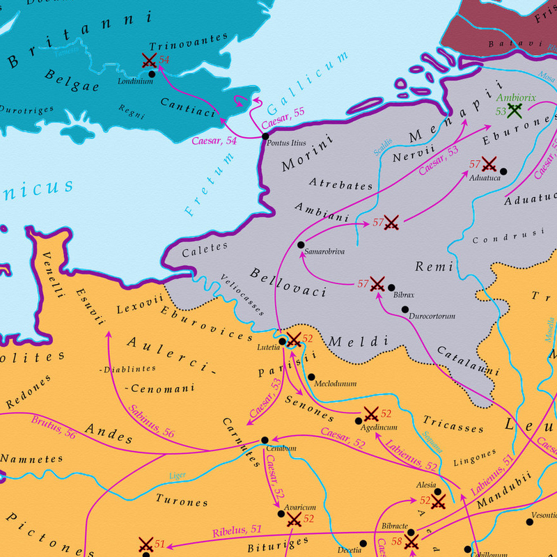 Maps That Explain The Roman Empire Roman Empire Roman And - Map of rome under caesar
