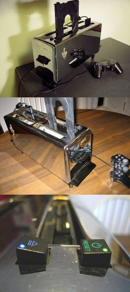 A Ps2 In A Toaster Seriously