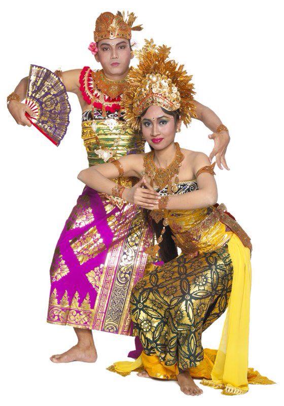 Tari Panji Semirang Dan Penjelasannya : panji, semirang, penjelasannya, Indonesia, (Bali), Tari,, Pakaian