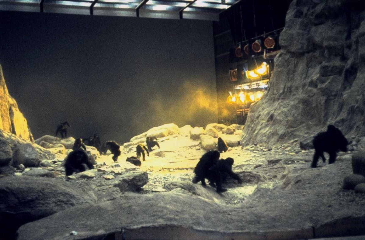 BEHIND-THE-SCENES IMAGES FROM STANLEY KUBRICK'S '2001: A SPACE ODYSSEY' - 1.