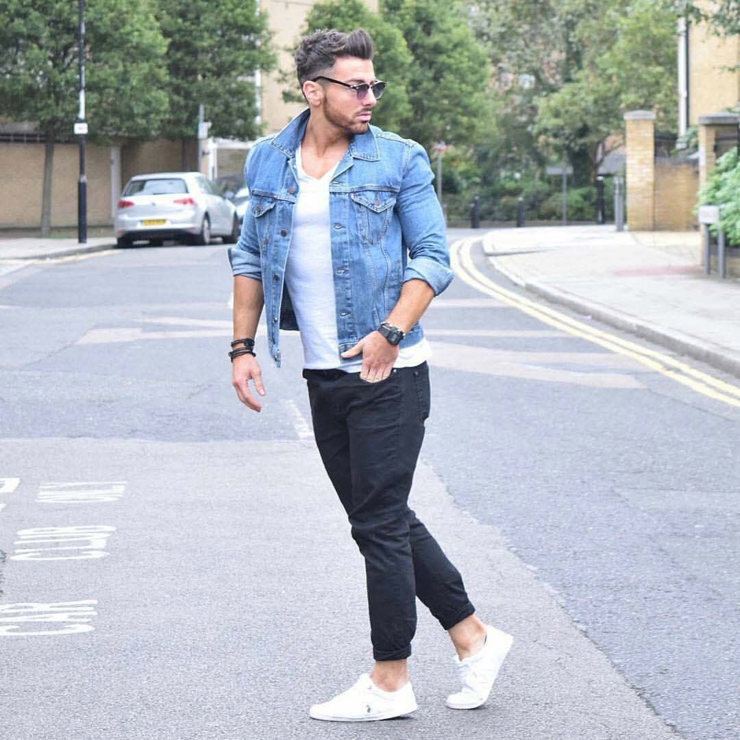 Official Guide Of Men 39 S Style On Instagram Rowanrow Denim Jacket By Levis Rowanrow