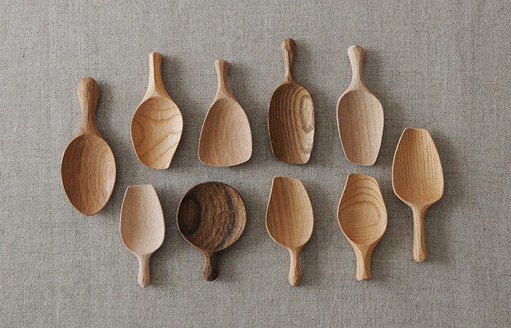 Chahasi Tea Leaf Spoons