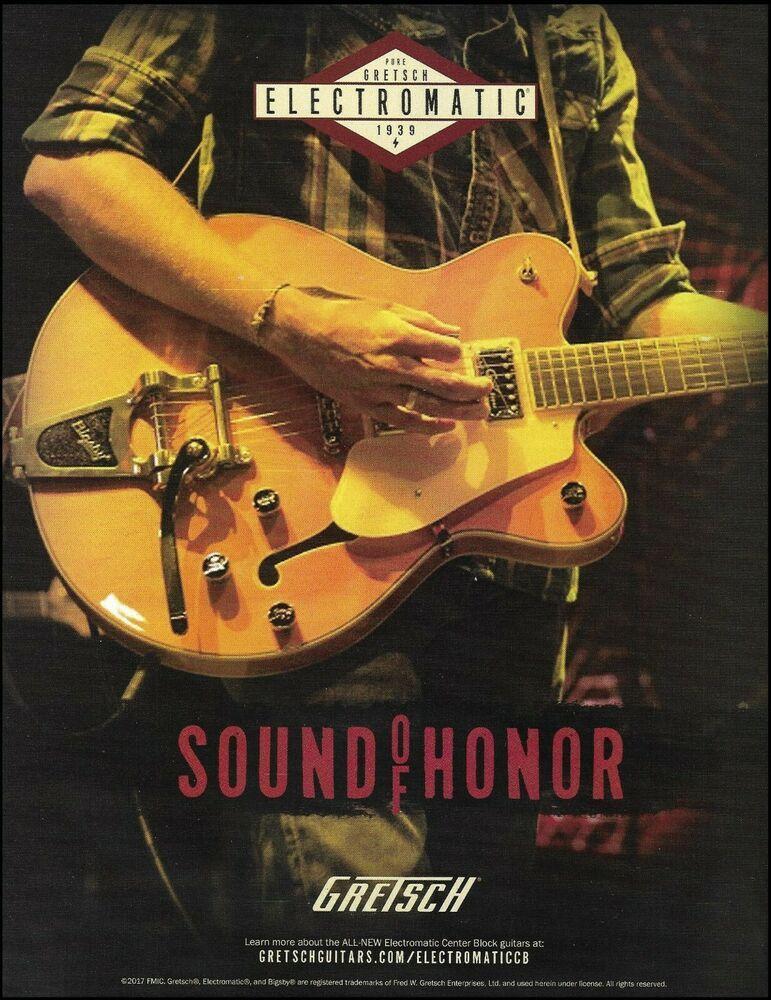 Pin on Gretsch Guitar ad / advertisement print