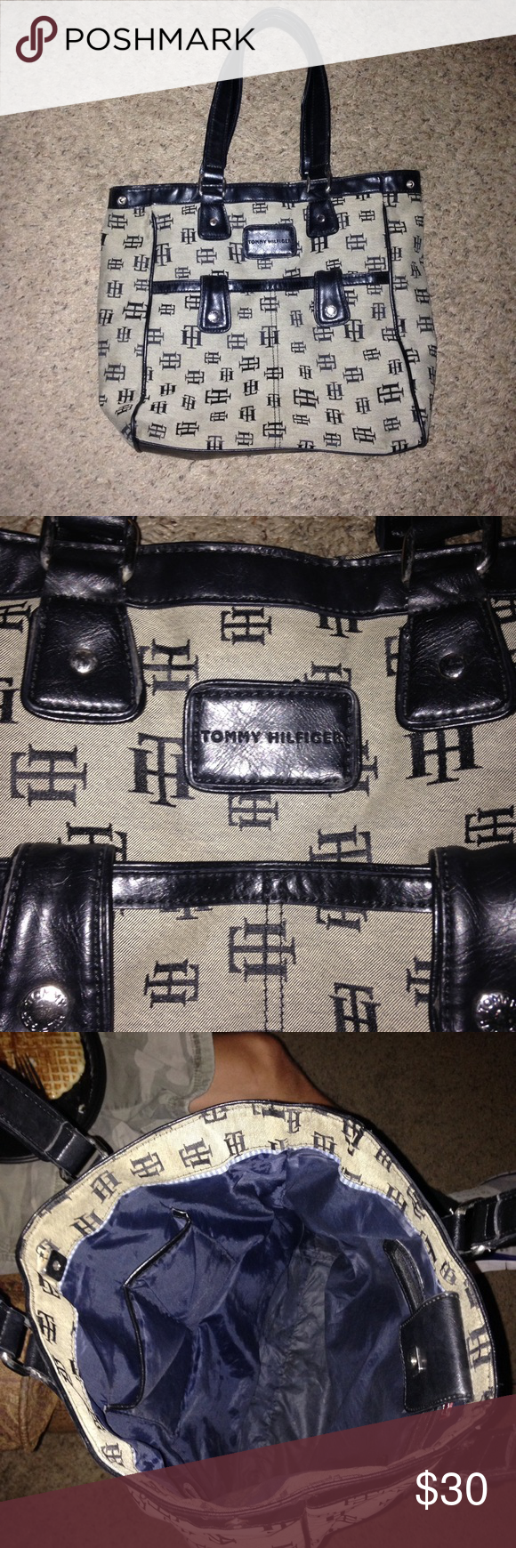 Tommy Hilfiger Purse! Super Cute and roomy Tommy Hilfiger Purse!! Tommy Hilfiger Bags Shoulder Bags