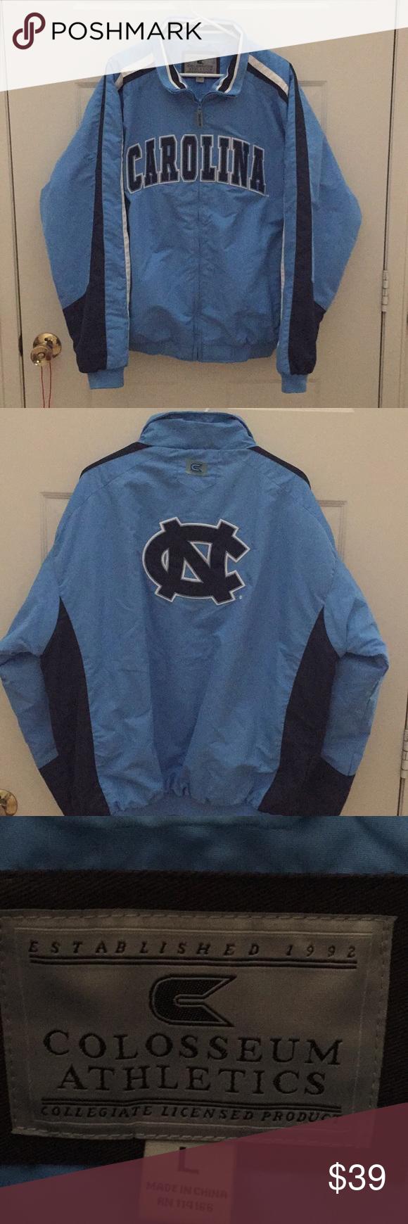 Unc North Carolina Jacket Long Sleeve Tshirt Men Jackets Warm Jacket [ 1740 x 580 Pixel ]