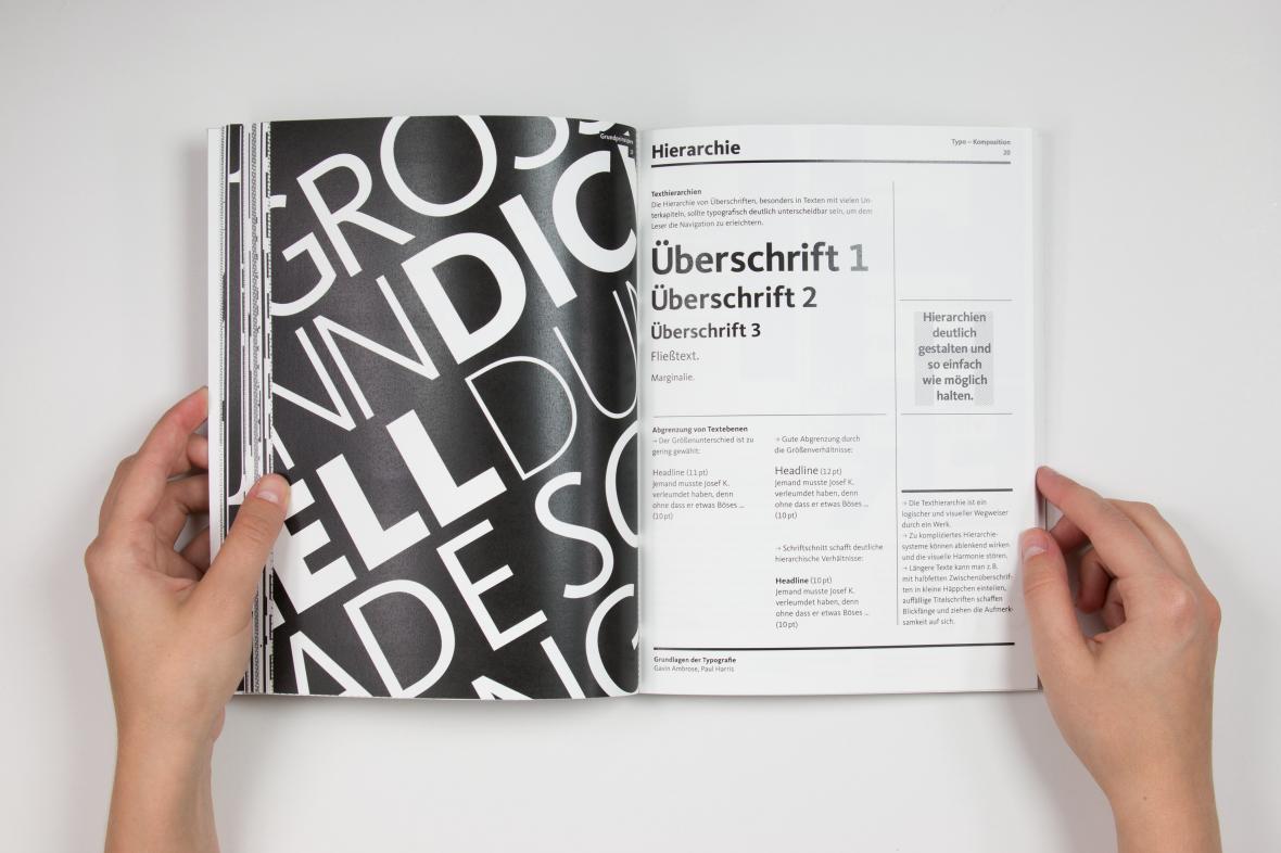 Elementares Typo Layout Grafik Design Grafik Typografie