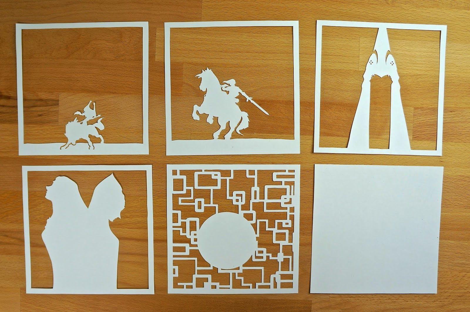 DIY Paper Lightboxes Zelda Studio Ghibli More