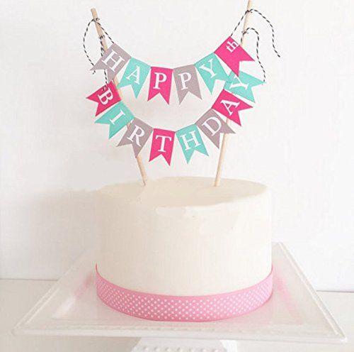 INNORU Handmade ONE First Birthday Cake Topper