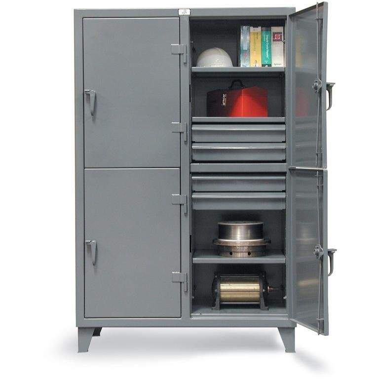 Strong Hold Locker With Drawers 46 24 2tpl 8db Garage Tools