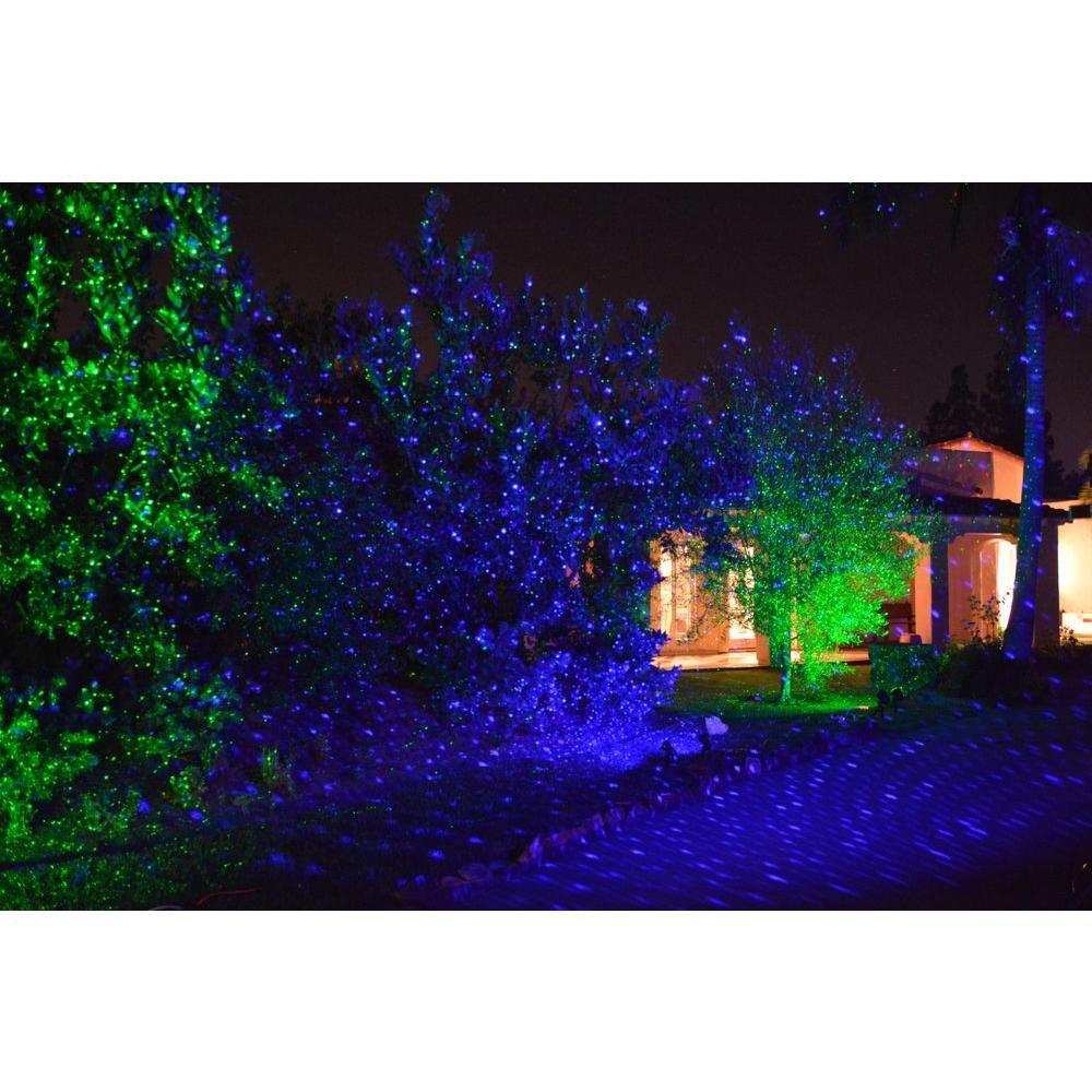 Lampwin Christmas Outdoor RGB Dynamic Firefly Projector Spotlight Lawn Light NEW