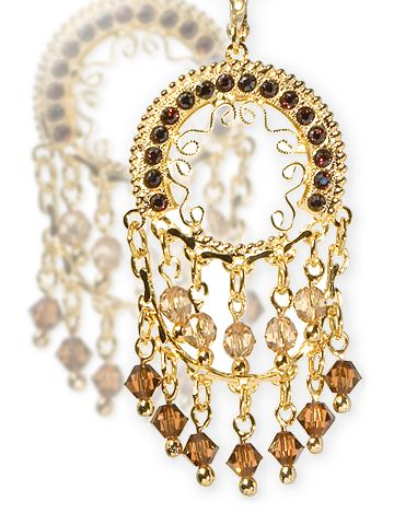 Sorrelli Crystal Earrings in Cherokee Sunset by Sorrelli - $102.50 (http://www.sorrelli.com/products/EBW5BGCHS)