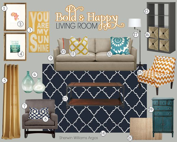 Unique Room Colors and Moods