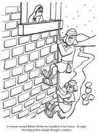 Horn Craft Walls Of Jericho Rahab