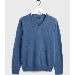Photo of Gant Superfeiner Lambswool Pullover (Blau) GantGant