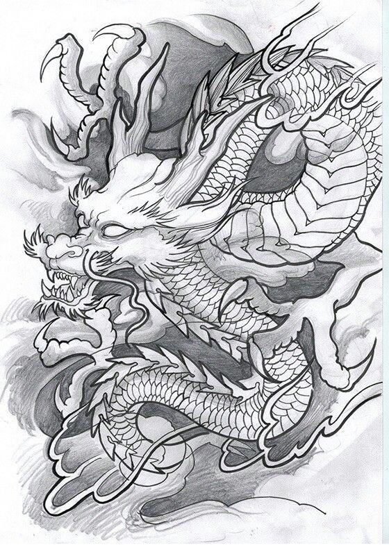 тату эскиз   Dragon   Pinterest   Tatuajes, Dragones y Arte
