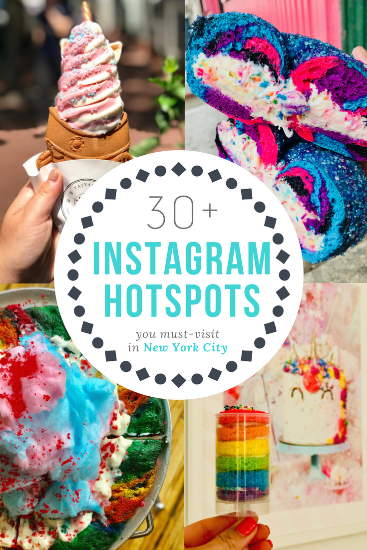 Photo of The Most Instagrammable Places in NYC for Rainbow Desserts to Signature Shots