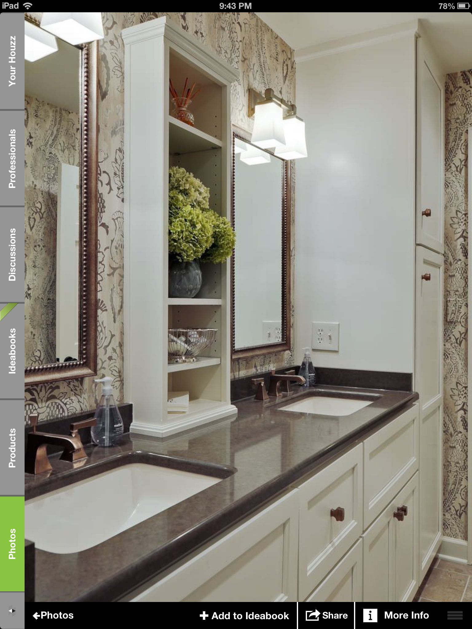 Vanity shelf to build 6x12x42 open back to mirror