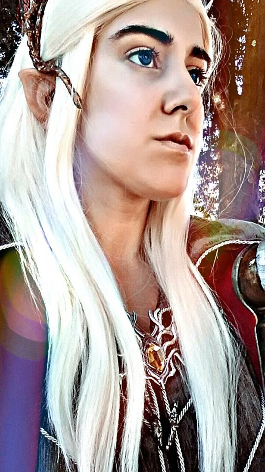 THRANDUIL COSPLAY  #kingOfMirkwood #Cosplayer #Dress #Fanart #Tumblr #Eyes #hair #Fabolous #KingOfParty #WIP