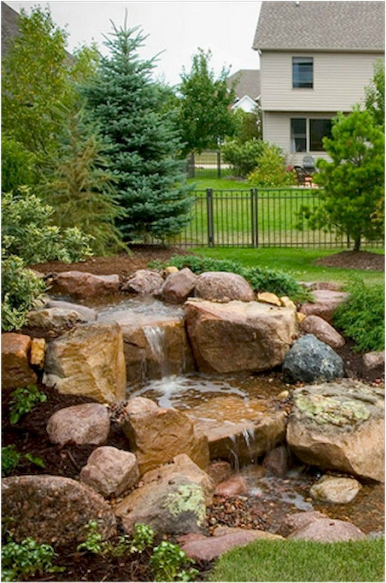 Awesome Water Feature for The Yard Landscaping 65 Awesome Water Feature for The Yard Landscaping65 Awesome Water Feature for The Yard Landscaping