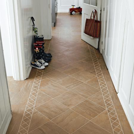 Unique Hallway Flooring Tiles