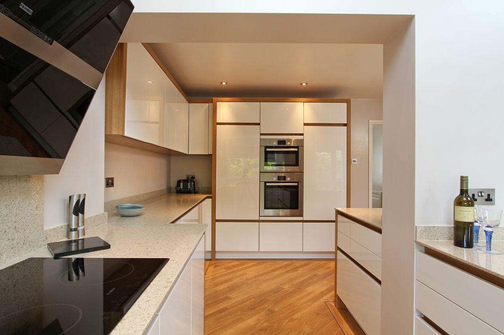 White Kitchen Oak