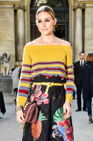 Olivia Palermo attends the Valentino show, Spring/Summer 2017,  October 2, 2016
