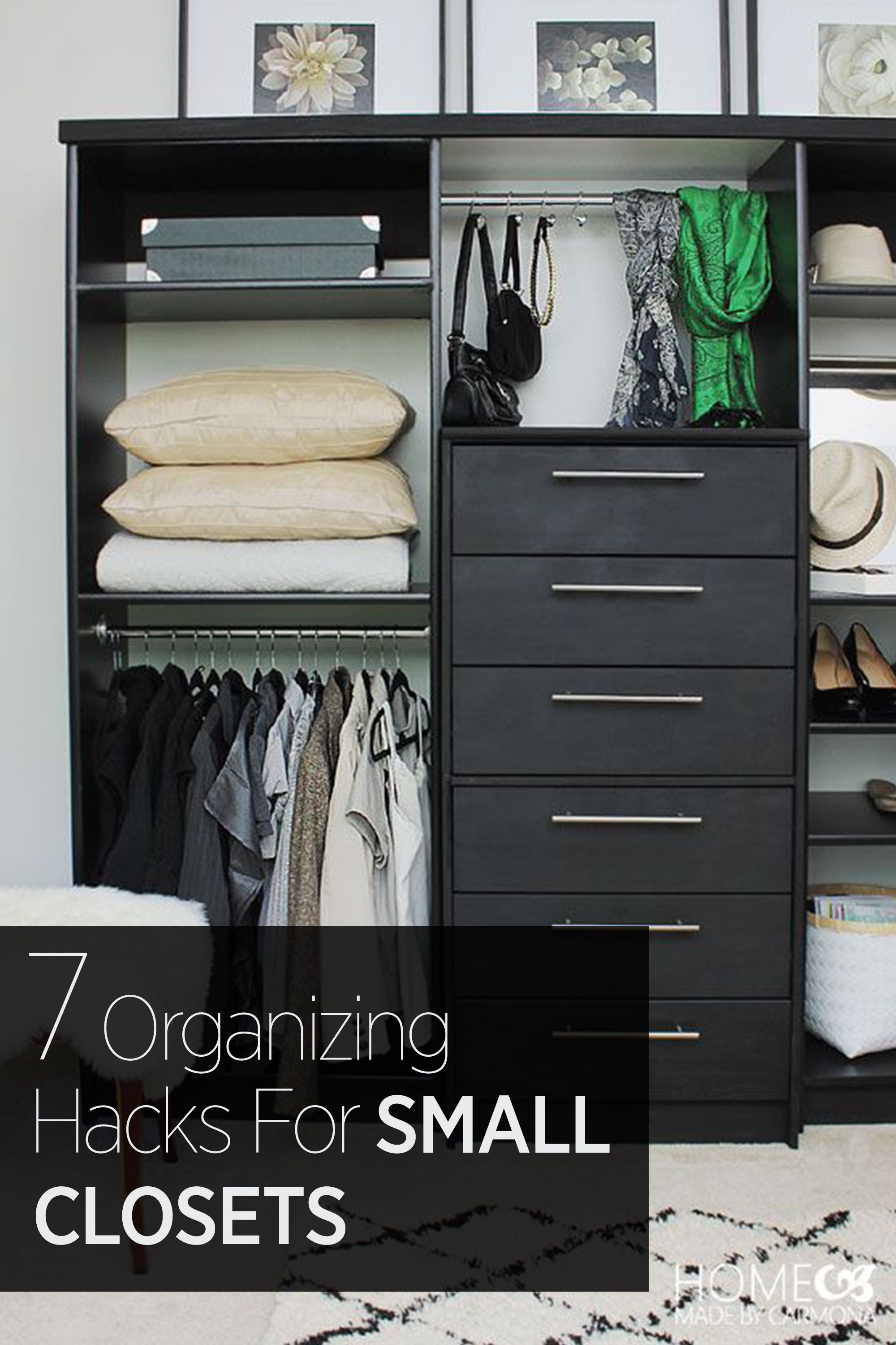 Etonnant How To Make A Small Closet Work With Even The Largest Of Wardrobes: