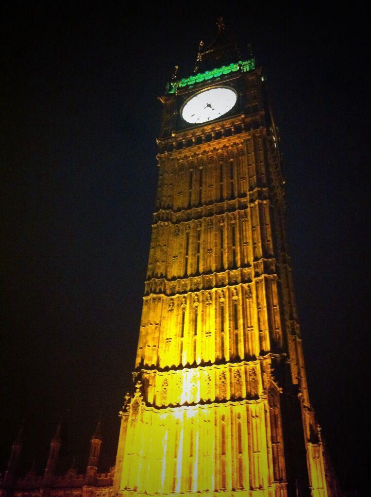 Nighttime wanderings in london