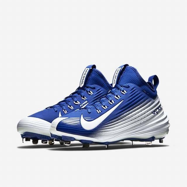 the best attitude 8ce3b ee287 ... czech new nike lunar vapor mike trout metal baseball cleats size 10.5  royal blue white f16f3