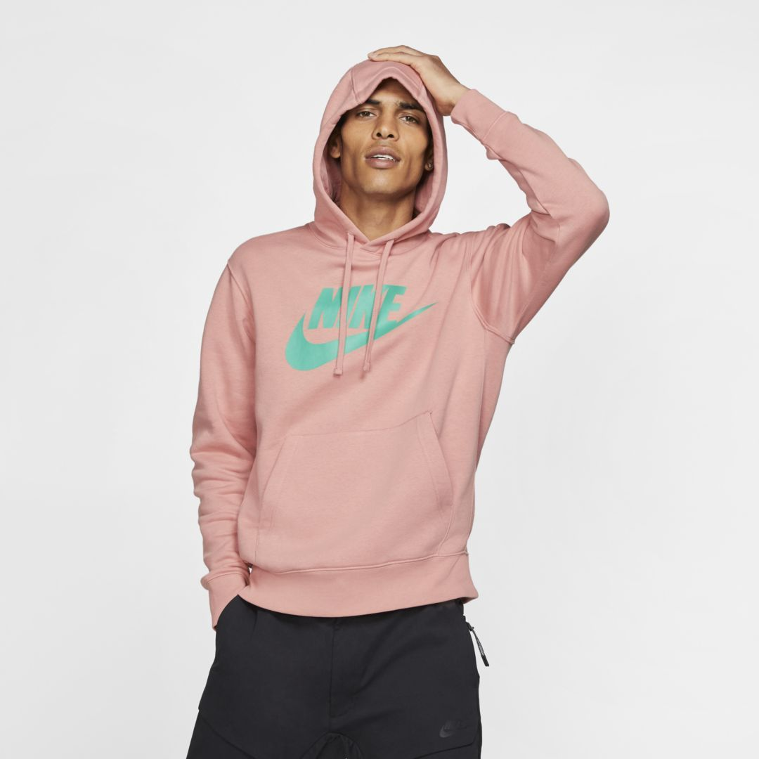 nike fleece men's hoodie