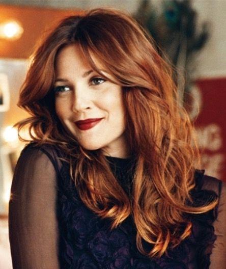 Lovely Reddish Brunette Hair Color