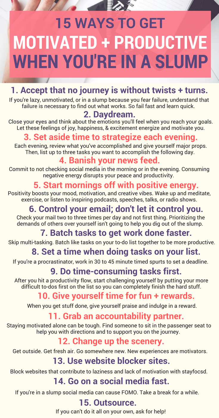 Feelin' Lazy? How to Get Motivated & Productive