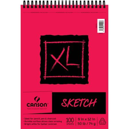 Canson Xl Series Mix Media Pad Arts Crafts Sewing Sketch Pad Sketches Sketch Paper