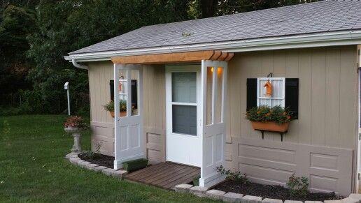 Repurposed Old Doors Rachelle S Originals Old Doors Outdoor Outdoor Structures