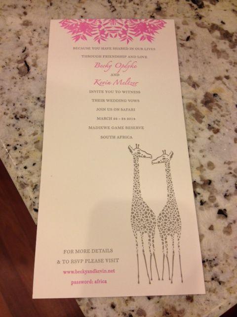 Our Invitation!!!!