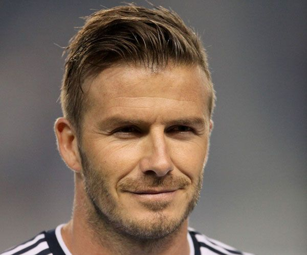 David Beckham Hairstyle Picture Gallery