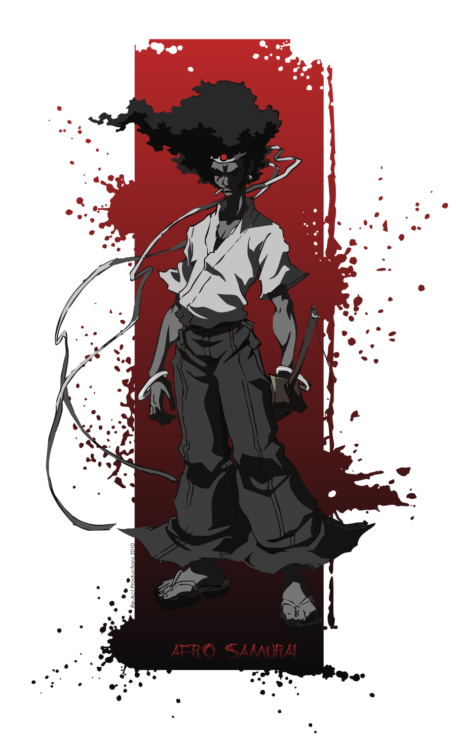 Takashi Okazaki Afro Samurai Afro Samurai Afro Samurai
