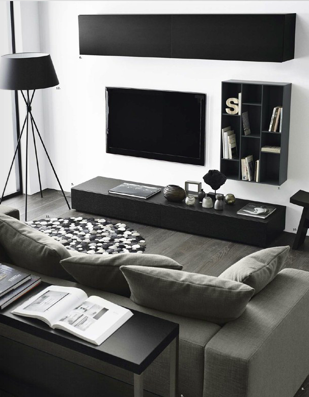 living room by bo concept tv wall pinterest boden lampen und wohnzimmer. Black Bedroom Furniture Sets. Home Design Ideas