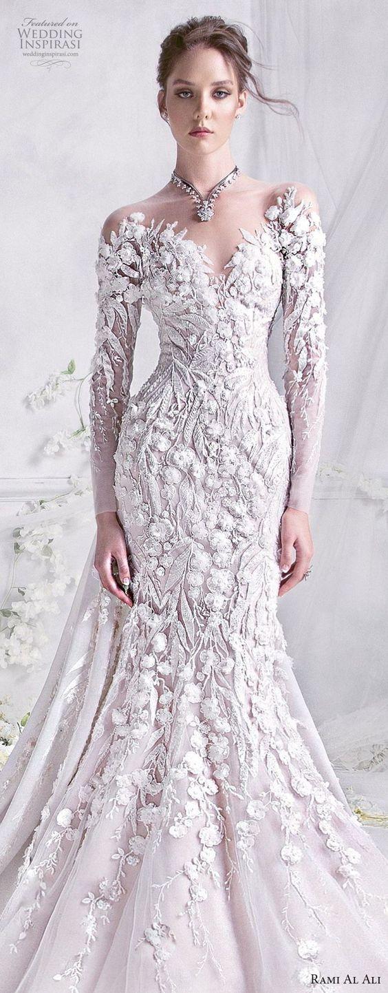 Rami al ali wedding dresses beautiful bridal pinterest