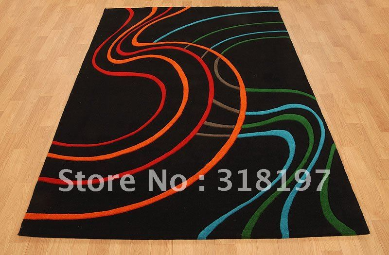 Hand made tufted acrylic modern carpet; modern area rug; acrylic modern carpet;  hand made acrylic carpet;-in Carpet from Home & Garden on Aliexpress.com