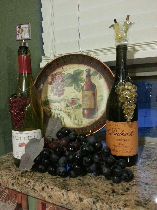 Wine themed dining room | Home Decor | Pinterest | Wine, Room and ...