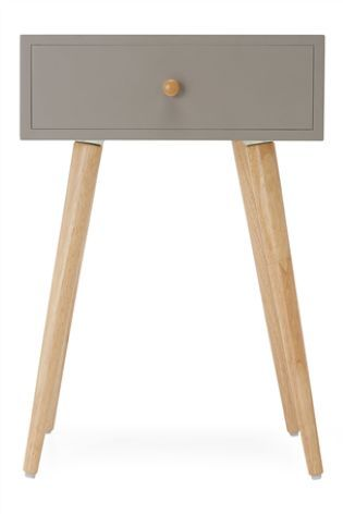 grey bedside table studio collection by next cordyline croft