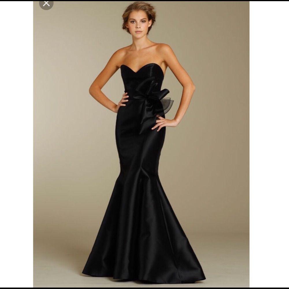 Noir by lazaro black mermaid silk gown sz 10 black mermaid and noir by lazaro black mermaid silk gown sz 10 ombrellifo Choice Image