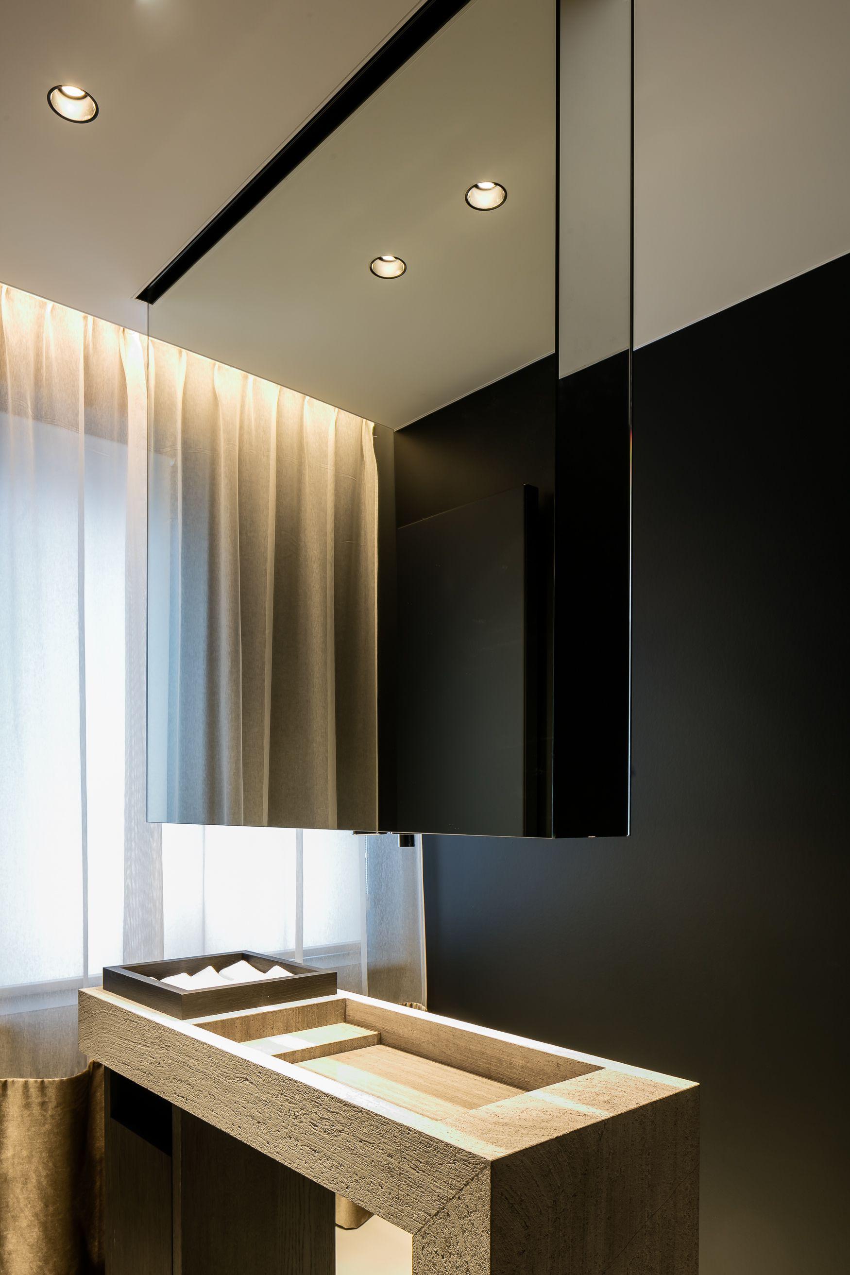 Bathroom Project in Diksmuide Belgium by Ruben Waeles OAK GREY