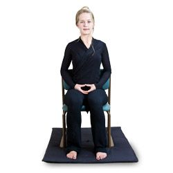 Meditation Can Also Be Done In A Chair The Practice Is To Return Repeatedly To The Direct Experience Of Whatever Is C Zazen Mindfulness Meditation Mindfulness