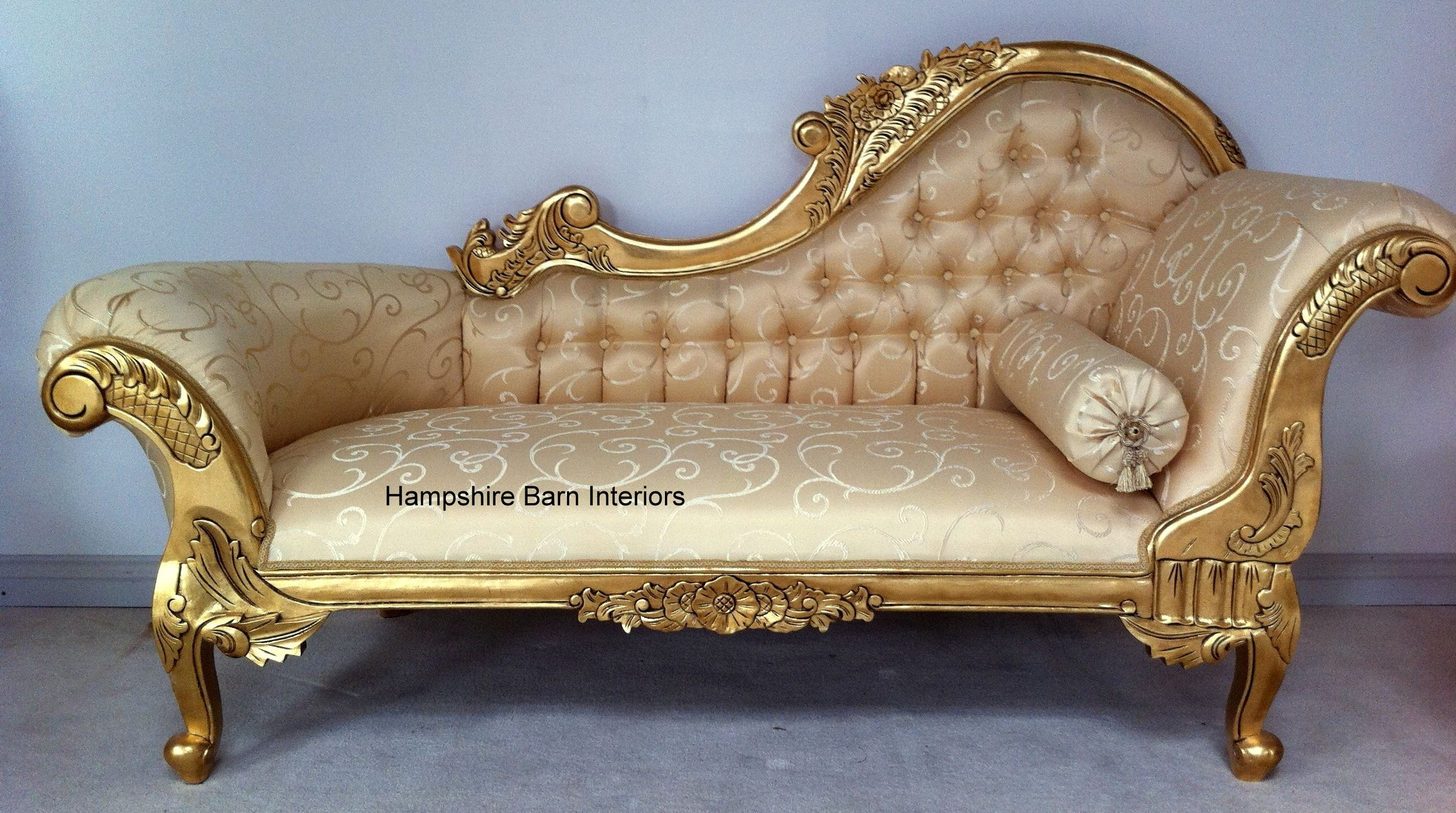 Gold Leaf French Provincial Furniture