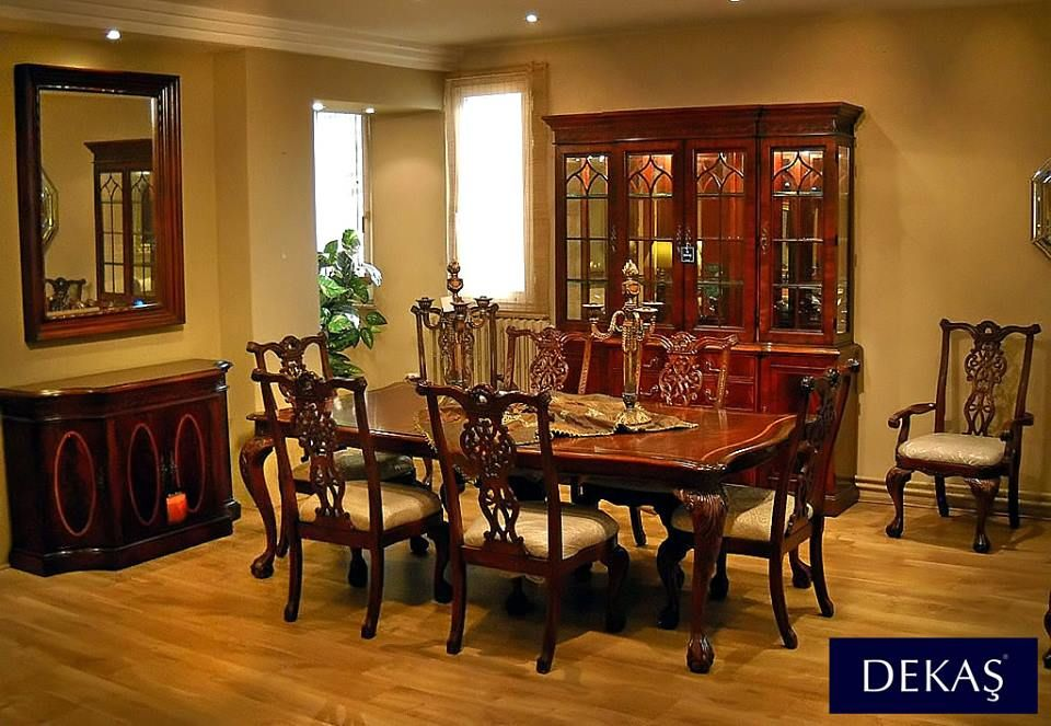 Chippendale Dining Room Fair 18Yüzyıl Chippendale Tarzı British Heritage Yemek Odasımasif Review