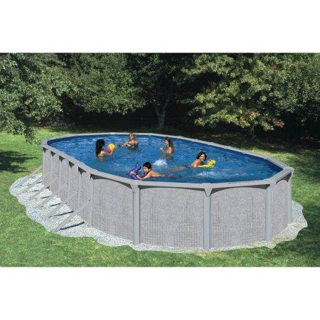 Heritage 30 39 X 15 39 X 52 Quot Illusion Steel Wall Above Ground Swimming Pool Walmart Com Above Ground Swimming Pools Swimming Pools Pool