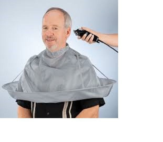 Time Saving Hair Cutting Cut Barber Salon Umbrella A Clipping Catcher Folds