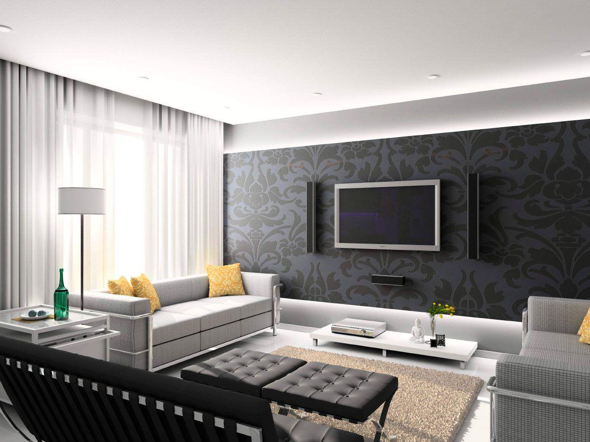 Ideas para decorar un sal n moderno home decor for Interior design moderno